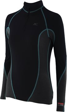 Produkt Mizuno Jacquard Virtual Body Long Sleeve H/Z Shirt 73CL04092