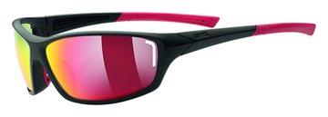 Produkt UVEX SGL 210, BLACK MAT RED/RED