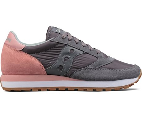 Saucony Jazz Original Charcoal/Pink