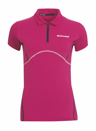 Babolat Polo Girl Match Performance Cherry Red 2015