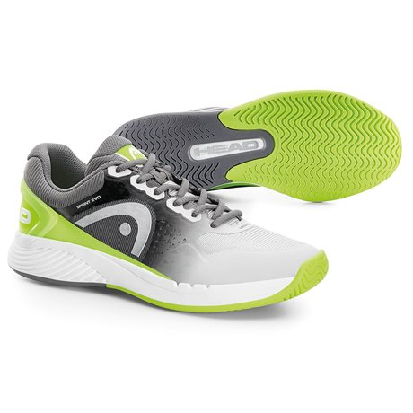 HEAD Sprint Evo Men Grey/Neon Green
