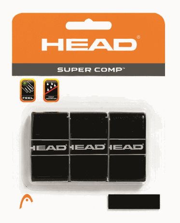 HEAD Super Comp Black X3