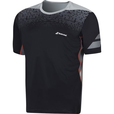Babolat Crew Neck Tee Men Performance Black 2016