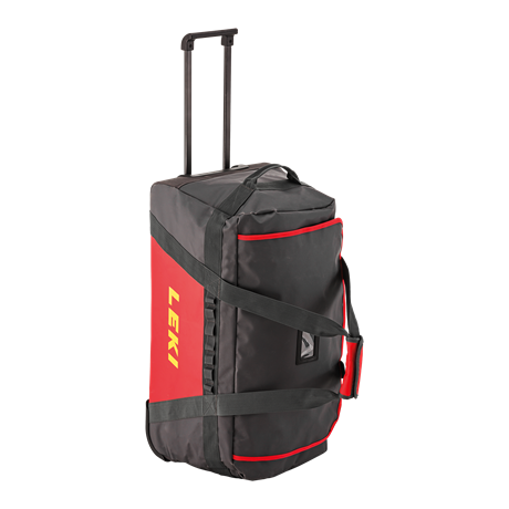 Leki Trolley Bag anthracite-red
