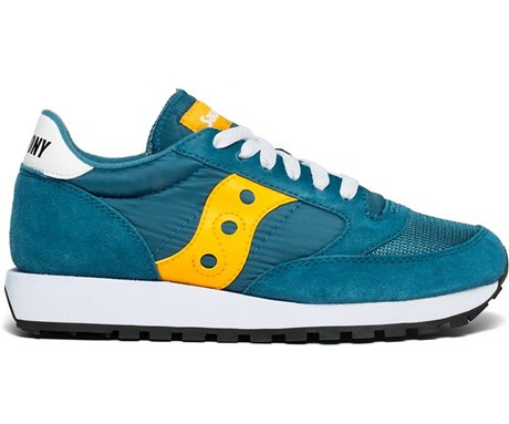 Saucony Jazz Original Vintage Teal/Yellow