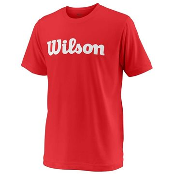 Produkt Wilson Y Team Script Tech Tee Red/White