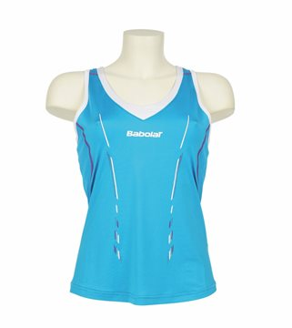 Produkt Babolat Tank Women Match Performance Blue 2014