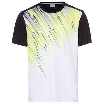 Produkt HEAD Slider T-Shirt Men Black/Yellow