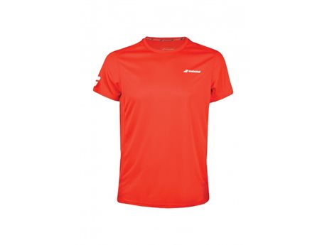Babolat Flag Tee Men Core Club Fluo Red