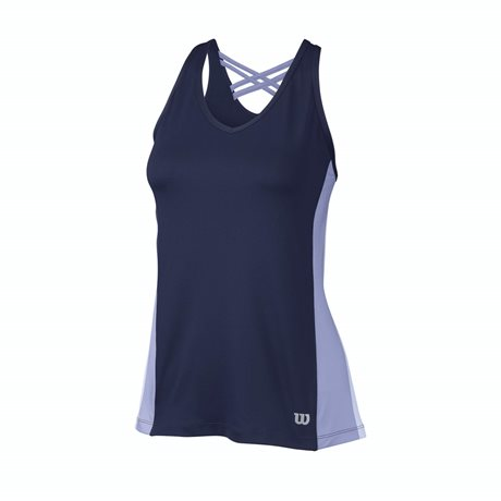 Wilson Classic Fit Tank Navy Wil