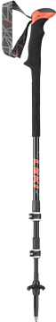 Produkt Leki Carbon TA XTG  anthracite/white/neon red  100-135 cm 6492160 2019