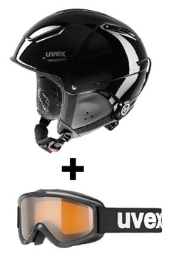 Produkt UVEX P1US JUNIOR Black + UVEX SPEEDY PRO