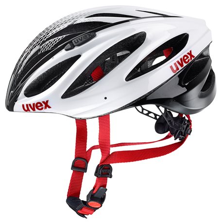 UVEX BOSS RACE, WHITE-BLACK 2019