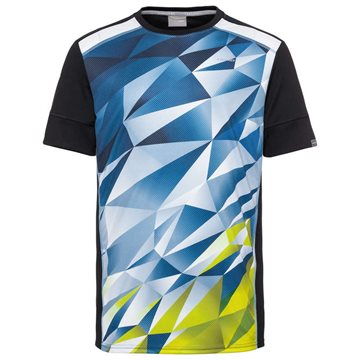 Produkt HEAD Medley T-Shirt Men Sky Blue/Yellow