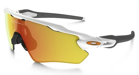 OAKLEY RADAR EV PATH POLISHED WHITE FIRE IRIDIUM