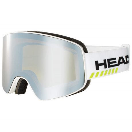 HEAD HORIZON RACE white + SPARE LENS 19/20