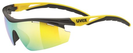 UVEX SGL 111, BLACK MAT YELLOW