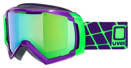 UVEX G.GL 100, dark purple dl/ltm green S5506279926