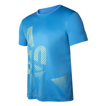 Produkt Babolat Exercise Men Big Babolat Tee Blue Aster