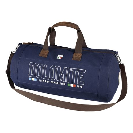 Dolomite Sessanta Canvas Duffle Bag Blue