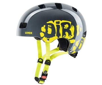 Produkt UVEX KID 3, DIRTBIKE GREY-LIME 2021