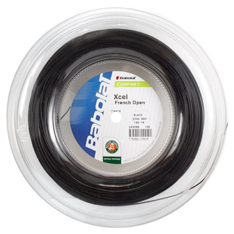 Babolat Xcel French Open Black 200m 1,30