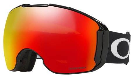 OAKLEY Airbrake XL Jet Black w/PRIZM Snow Torch Iridium + PRIZM Snow Sapphire Iridium 16/17