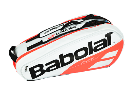 Babolat Pure Strike Racket Holder X6 White/Red 2018