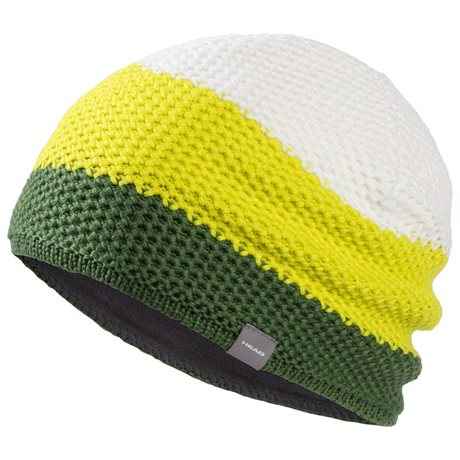 Head Lois Beanie Forestgreen/Yellow