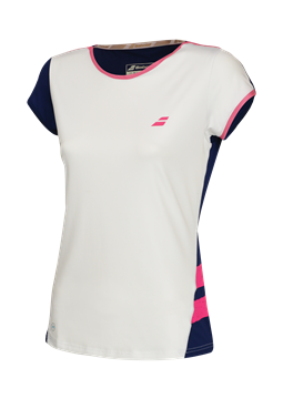 Produkt Babolat Performance Women Cap Sleeve Top White 2018