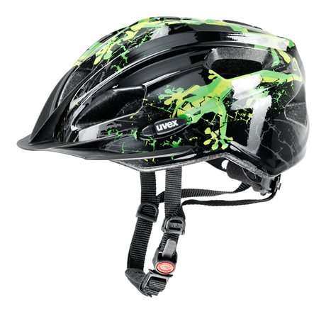 UVEX QUATRO JUNIOR, GECKO BLACK-GREEN