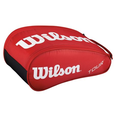 Wilson Tour Shoe Bag Red