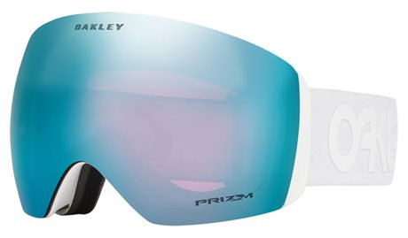 OAKLEY Flight Deck Factory Pilot Whiteout w/PRIZM Snow Sapphire Iridium 19/20