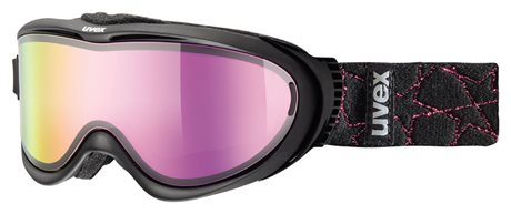 UVEX COMANCHE TAKE OFF, black/litemirror pink