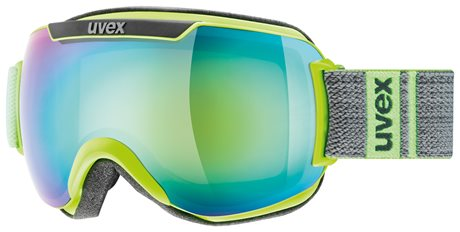 UVEX DOWNHILL 2000 FM lime-grey mat/mir green lgl S5501157126