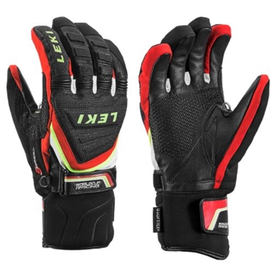 Leki Race Coach C-Tech S black-red-white-yellow 640813302 18/19