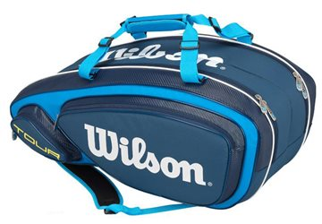 Produkt Wilson Tour V 9 Pack Blue