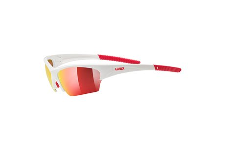 UVEX SUNSATION, WHITE RED/ MIRROR RED