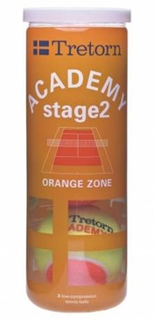 Tretorn Academy Orange X3