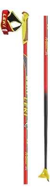 Leki HRC Junior neonred/yellow-black 6434057 18/19