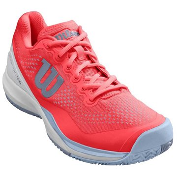 Produkt Wilson Rush Pro 3.0 All Court Women Fiery Coral/White/Cashmere Blue