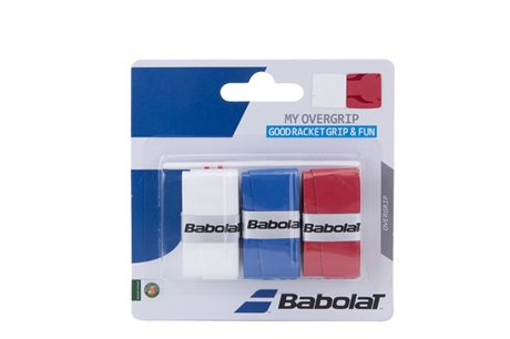 Babolat My Grip X3 White/Blue/Red