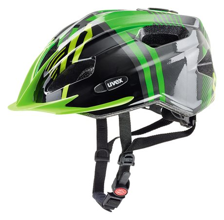 UVEX QUATRO JUNIOR, GREEN-ANTHRACITE 2017