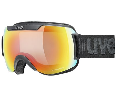 UVEX DOWNHILL 2000 V black mat/mir rainbow vario clear S5501232030 20/21