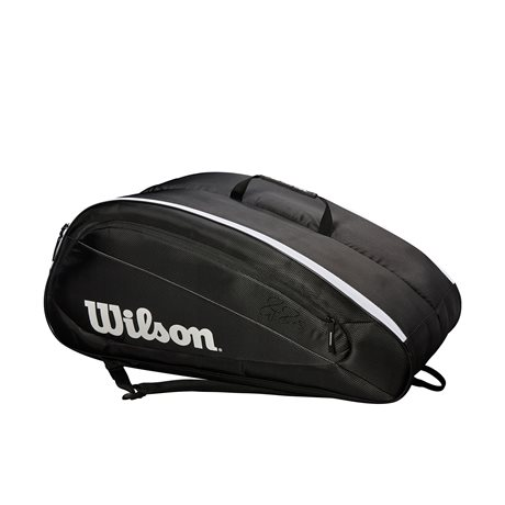 Wilson Federer Team 12 Pack Black 2019
