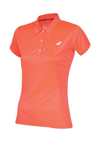 Babolat Polo Women Core Club Fluo Red