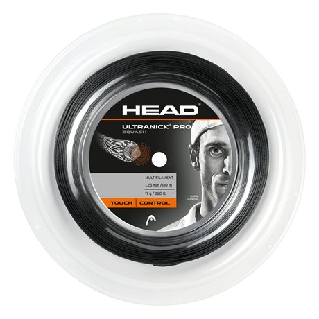 HEAD Ultra Nick Pro Squash 110m 1,25 Black
