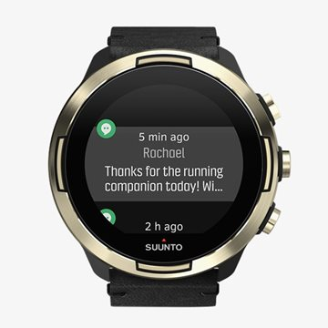 Produkt Suunto 9 G1 BARO Gold Leather