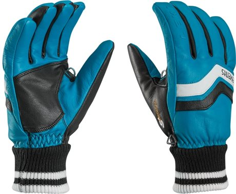Leki eleMents Iridium S cyan-black-white 63488003