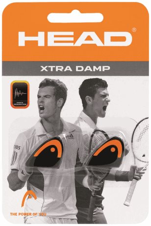 HEAD Xtra Damp Black/Orange